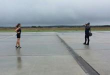 Flughafen Akt Shooting