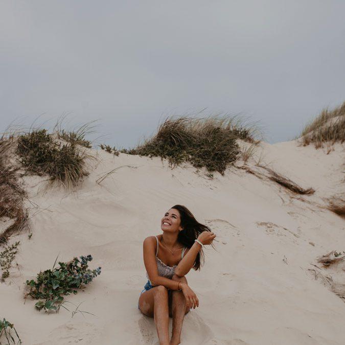 Boho Romantik in den Dünen