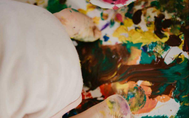 Farbenfrohe Homestory